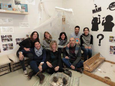 La Cooperativa Huerta Santa Ana, visita Ninos Monpeixet