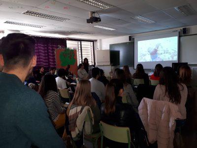 Ninos present a les Jornades Professionals de l'IES Berenguer Dalmau de Catarroja