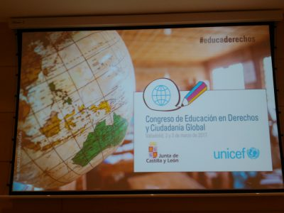 Participamos en el Congreso de Educación en Derechos y Ciudadanía Global