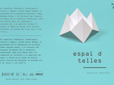 S'inaugura l'Espaid Telles en Alacant.